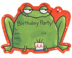 frog invite