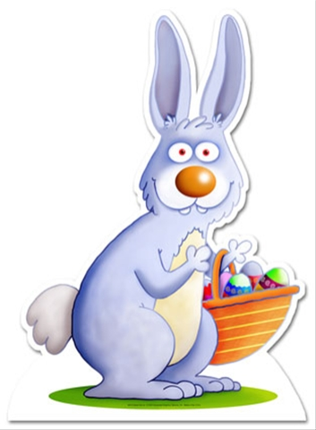 easter bunny cartoon pictures. Easter Bunny Sightings!