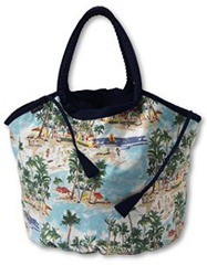 landsend reversible beach bag