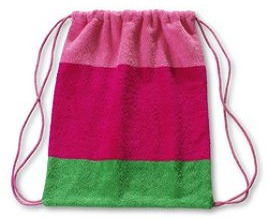 Kids Beach Tote with Toys Kids Rugby Beach Bag from