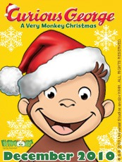 Curious George – A Very Monkey Christmas – South Shore Mamas