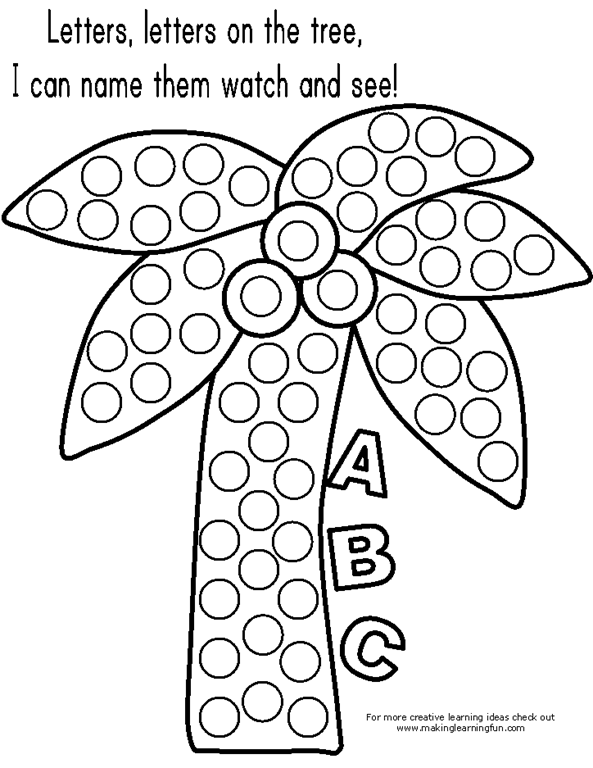 bingo dot coloring pages - photo#20