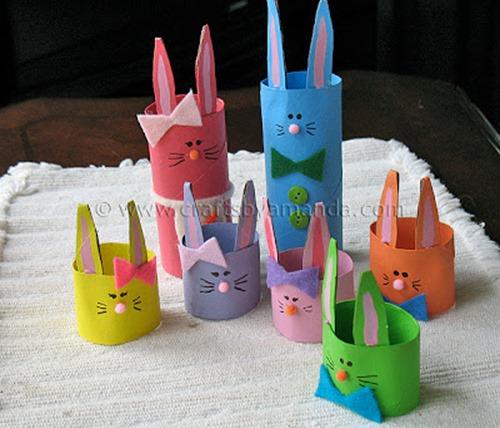 cardboard bunnies