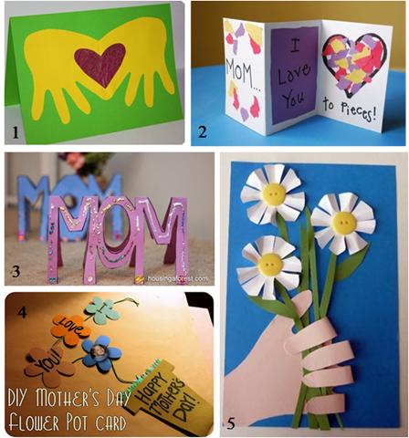 Подарки для мамы своими руками для малышей