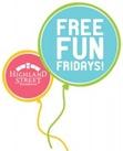 free fun fridays 2013