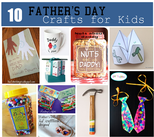 10 Fabulous Fathers Day Crafts For Kids South Shore Mamas