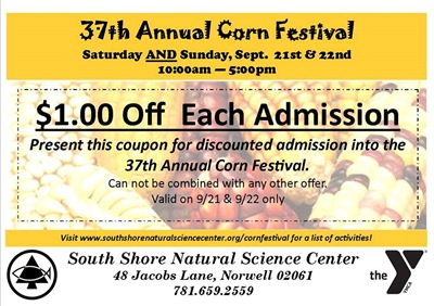 corn festival coupon