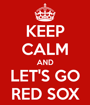keep calm red sox