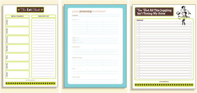 Get Organized Planners Printables Apps And Accessories To Save