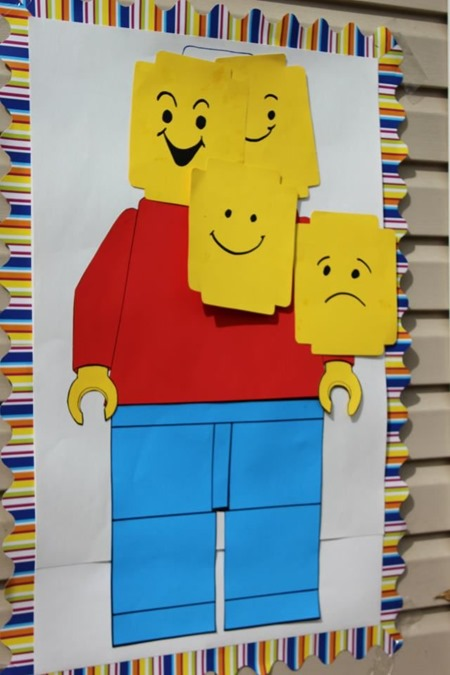 Pin the Lego Game