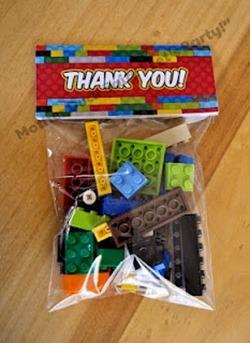 lego bricks favor