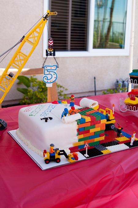 lego cake 6