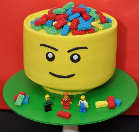 Top Off The Cake With Some Fun Candles Or Create Your Own Candle Holder Using One Of Childs Favorite Mini Figs Target Sells Lego Shaped