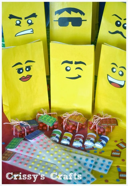 Lego Goody Bags Now Pull All Those Ideas Together In A Fun And Festive Party Table Click On The Photos To Visit Each Source Website