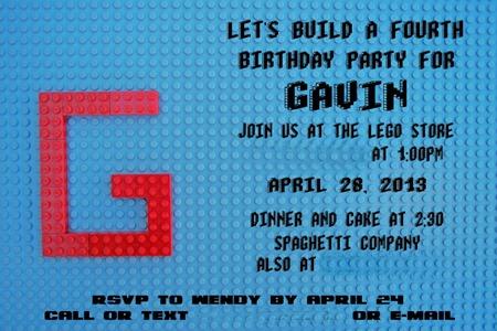 lego invite 6