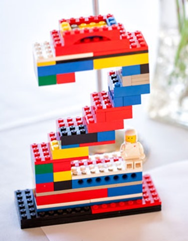 Announce The Birthday Boy Or Girls Age With A Lego Number Sign