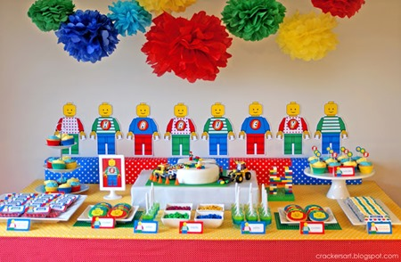 lego party table 5