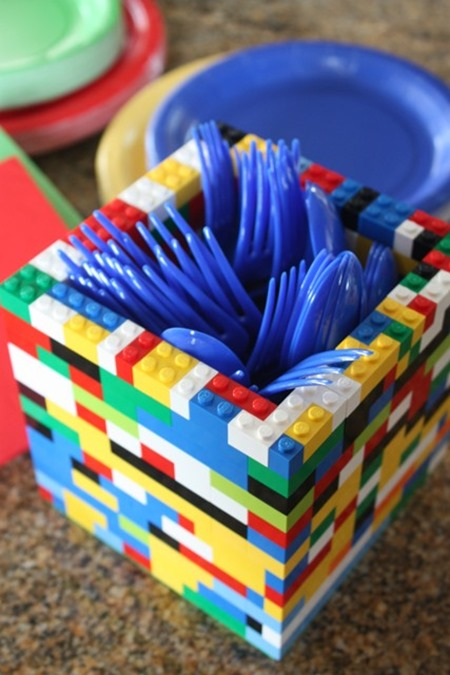lego utensil holder