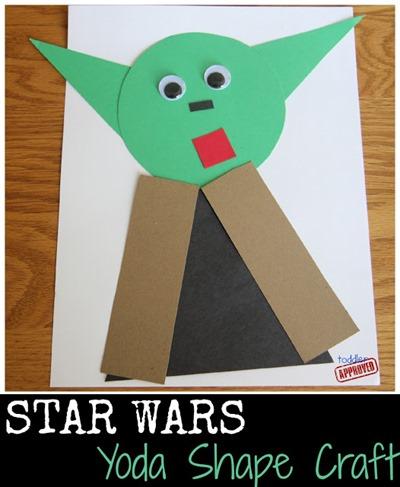 yoda shape craft