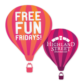free fun fridays balloons