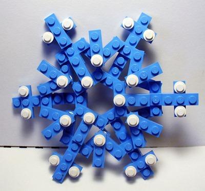 lego snowflake