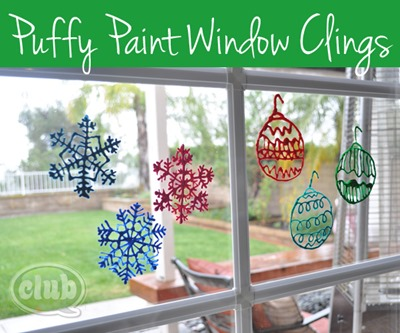 puffy paint window clings